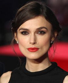 Keira Knightley in Red Lipstick 2014 | POPSUGAR Beauty