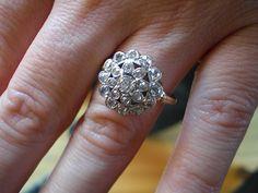 Vintage Diamond Ring $1095