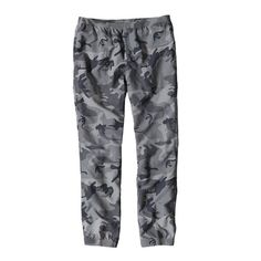 PATAGONIA M's Baggies™ Pants - Regular, Forest Camo: Forge Grey (FCFG)