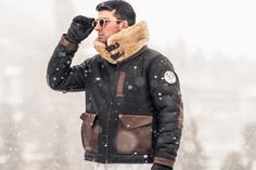 Investments can be unpredictable, but not so with this coat, which we have handpicked to provide you with sound and secure appreciation – aesthetically, spritually and financially. Bomber Coat, Bomber Jackets, 10th Mountain Division, Sheepskin Coat, S 10, High Collar, Alps, Diy Clothes, Appreciation