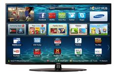 A prime example of convergence media, the Samsung Smart TV brings together both the internet and of course, television. Similar to the smart phone, or a tablet, the Samsung Smart TV comes equipped with apps as well. Hd Samsung, Samsung Smart Tv, Samsung Device, Pec Man, Tv Lcd, 3d Tvs, Tv Reviews, 3d Home, Shopping