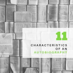 What are the characteristics or elements of a biography? Check out our list of the 8 characteristics of a good biography. Best Autobiographies, Best Biographies, Memoirs, Biography, Bullet Journal, Check, Biography Books