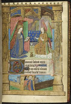 Book of Hours use of Bayeux, France, N. W. ( Rouen ) 15th century.