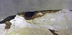 Andrew Wyeth (1917 — 2009, USA) Lime Banks. 1962 tempera on panel. 26 3/4 x 51 5/8 in.