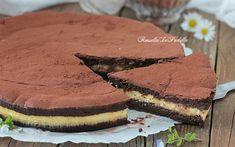 3-krát čokoládový dort, recept bez mouky, másla a kvasnic