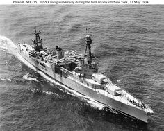 USS Chicago. May 1934