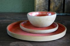 Hey, I found this really awesome Etsy listing at https://www.etsy.com/listing/185119935/handmade-organic-dinner-ware-place