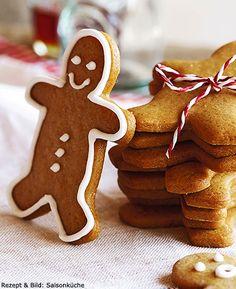 Bonshommes en pain d'épice Gingerbread Cookies, Desserts, Christmas, Gingerbread Man, Eat, Cooking Recipes, Noel, Sweet Treats, Food And Drinks