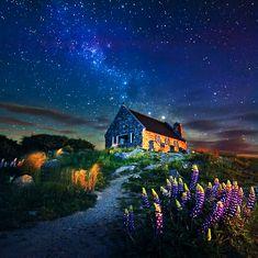 Magnificent Starlit Skies that Encompass Lake Tekapo in New Zealand All the Way to the Cradle Mountain in Tasmania, Australia