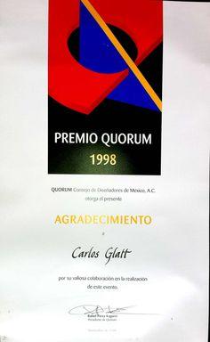 Premio Quórum 1998