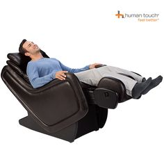Features: -Upholstery: Black vinyl and Espresso vinyl.-Body match customization to match your body type and size. Herman Miller Aeron Chair, Good Massage, Massage Chair, The Balm, Furniture, Zero, Home Decor, Lighting Design, Espresso
