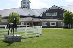 Panoramio - Photo of Equestrian Center at Pineland Farms