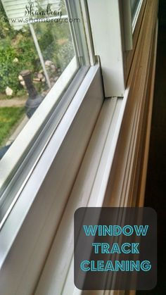 Clean those dirty window tracks with these tips!