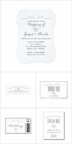 Silver Hearts & Sparkle Wedding Collection