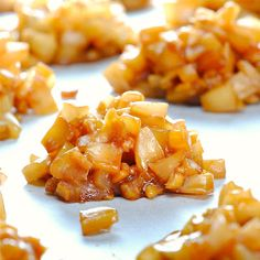 Jamaican Coconut Drops ~  three ingredients...fresh coconut, fresh ginger and brown sugar.