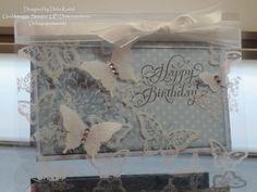 Acrylic Butterflies Zartblau 2