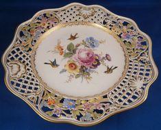 Meissen Brühlsches Allerei Floral Plate #2