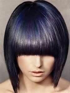 New Bob Haircuts 2019 & Bob Hairstyles 25 Bob Hair Trends for Women - Hairstyles Trends Dark Purple Hair Color, Bold Hair Color, Purple Highlights, Purple Streaks, Mandy Moore, Jessica Alba, Hair Colours 2014, Hair Colors, Blonder Bob