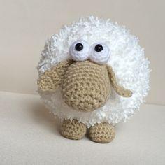 """Patron au crochet PDF Mouton """"Wooly"""""""