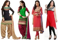 salwar suit for women with pear shape body