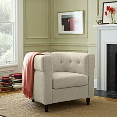 Chester Tufted Upholstered Chair #WestElm