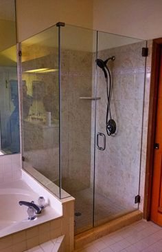 90 degree shower doo
