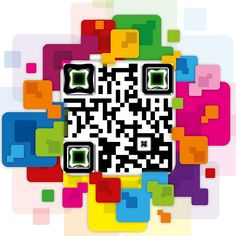 QR Code colorato - - QR Code colourfull