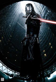 Starkiller - Poster by ArtBasement on DeviantArt Star Wars Pictures, Star Wars Images, Cool Pictures, Darth Starkiller, Galen Marek, Star Wars Sith, Star Trek, Star Wars Facts, Star Wars Tattoo
