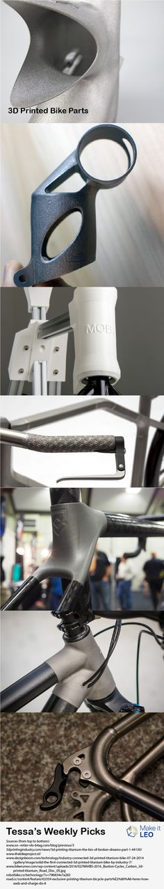 Tessa's Weekly Picks – 3D Printed Bike Parts