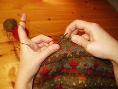 Vergrößern Hand Knitting, Tips