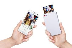 G Pocket Photo, Pocket wireless printer for smartphones
