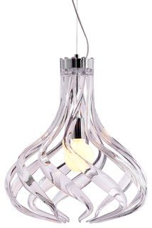 Cyclone Ceiling Lamp Clear