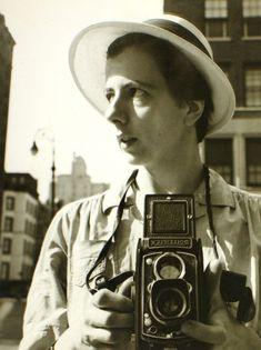 Vivian Maier ::   New York City, Self-Portrait, September 10th, 1955