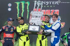 Valentino Rossi vence Monza Rally Show