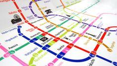Osaka Municipal Subway Redesign on Behance