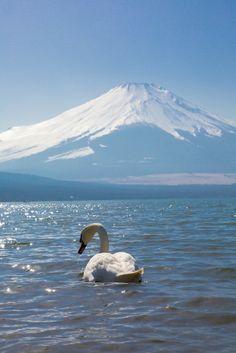 Mt. Fuji, Japan 富士山 - this photo brings back happy memories of my trip to Japan
