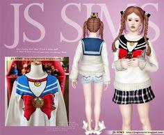 Sailor Moon Sweater - JS SIMS 3