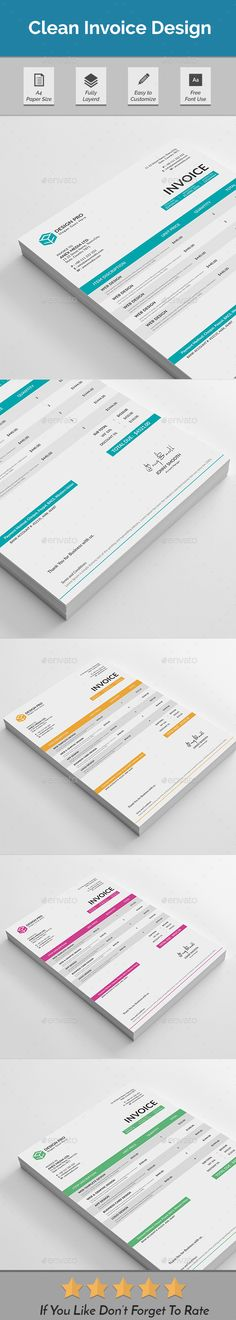 Web Design Proposal W\/ Contract, Invoice Business proposal - web design invoice