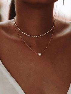 Circle Necklace with Dangling Bezel Set Diamond / Thin Gold Choker / Chain Choker Necklace / Available in Gold / White Gold / Rose Gold - Fine Jewelry Ideas - - Dainty Jewelry, Cute Jewelry, Boho Jewelry, Jewelery, Jewelry Accessories, Jewelry Necklaces, Jewellery Box, Jewellery Shops, Handmade Jewellery