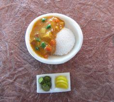Korean Chinese food miniatures