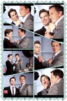 Best tv partnership on and off screen: Matt Bomer and Tim DeKay    They are so adorable!