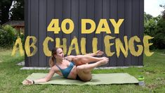 Live So Fit - 40 Day Ab Challenge Part 1 Ab Challenge, Abs, Challenges, Workout, Live, Fitness, Sports, Crunch Challenge, Abdominal Muscles
