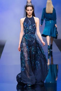 Elie Saab Fall 2013 Runway: Elie Saab Fall 2013  I would love if it were shorter for my short body.