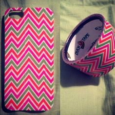 DIY phone case: it's made of duct tape, so cute, and so simple