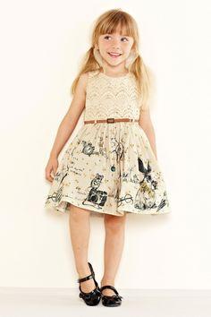 Buy Crochet Scene Dress (3mths-6yrs) from the Next UK online shop