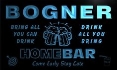 AdvPro Name q04374-b BOGNER Family Name Home Bar Beer Mug Cheers Neon Light Sign Great Gift for your dearest! Excellent for displaying in shops, bars, pubs, clubs, restaurants, game rooms and anywhere you like. With nearly 20 years of experience, ADV (Barcode EAN = 5053711043434) http://www.comparestoreprices.co.uk/december-2016-5/advpro-name-q04374-b-bogner-family-name-home-bar-beer-mug-cheers-neon-light-sign.asp