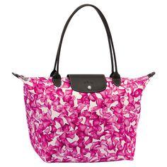Longchamp Le Pliage Darshan Tote Pink [Longchamp Darshan Bag] $70
