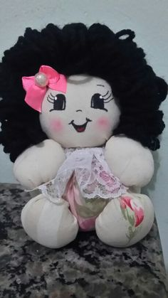 Boneca de fuxico por Patrícia Souza