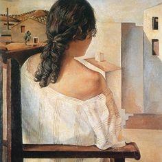 Salvador Dalì, Ragazza di spalle (1925)