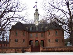 Capitol quot in the new world meeting place of the house of burgesses